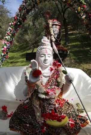 Shiva at Mandir