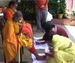 Shree Maa and Swamiji Arrive in Southern India