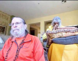 Shree Maa and Swamiji