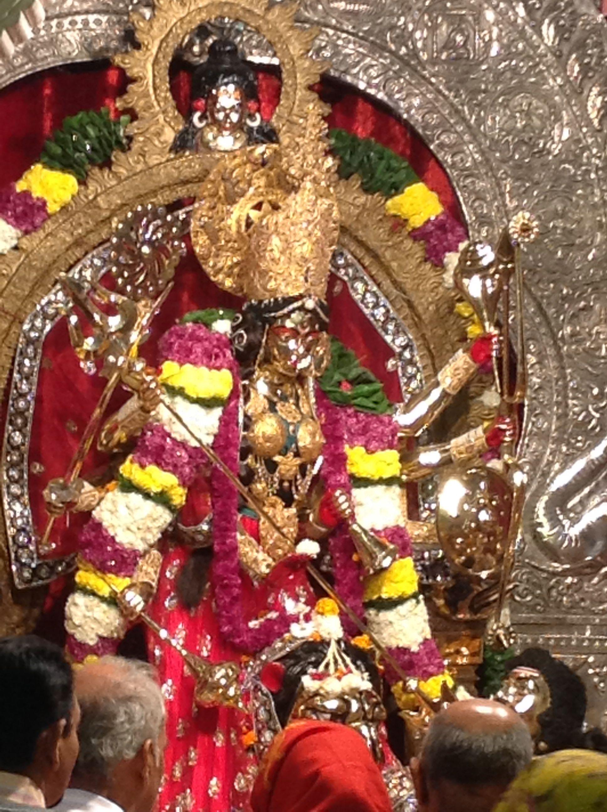 Mahishasuramardini Katyayani Temple New Delhi Sacred