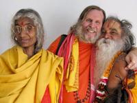 Swami Ramkripalu at the Devi Mandir