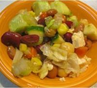 Shree Maa's Hodge-Podge Vegetable Bean Salad