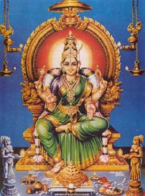 Bhuvaneswari, the Ruler of the Universe