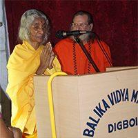 Shree Maa Visits Childhood School