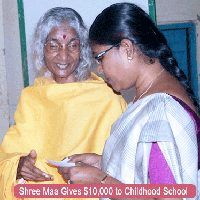 Shree Maa's Childhood School Campaign