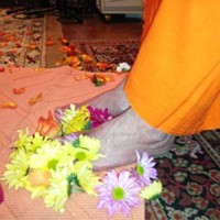 Giving Thanks to Swamiji on Father's Day, 2015